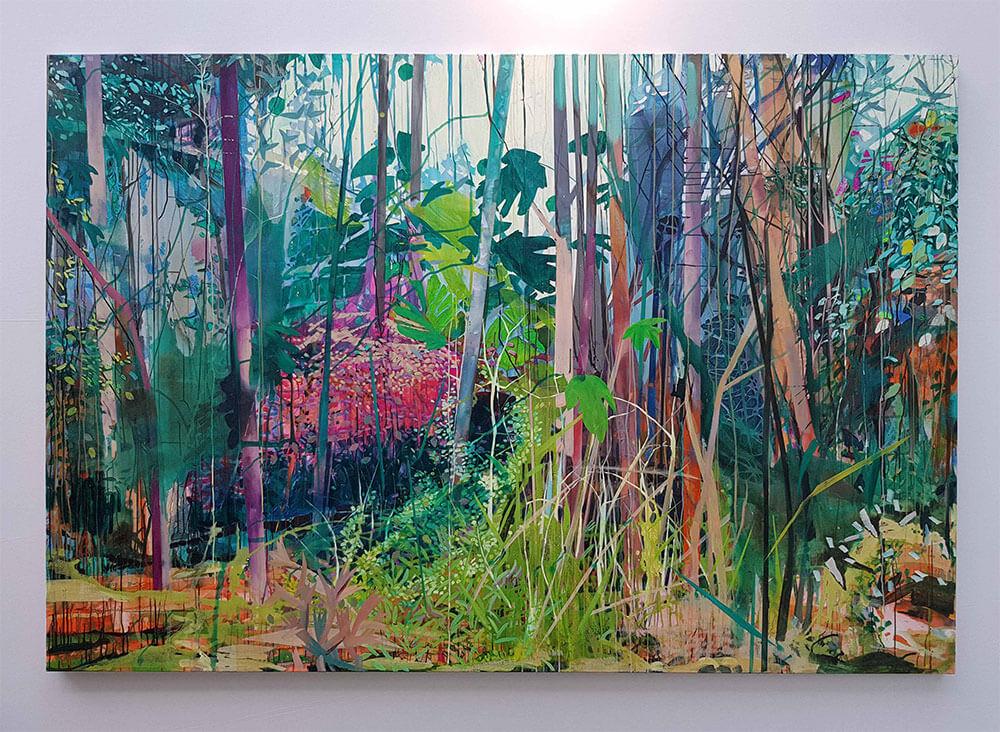 Garten, 2019, 190x280cm – Theresa Möller – Artparis Artfair | Aedaen Gallery