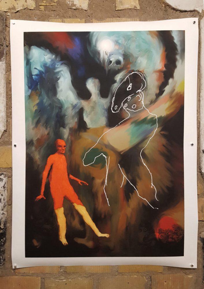 Alain Campos, Antonio Gallego, et José Maria Gonzalez alias Banlieue-Banlieue (création à « trois têtes »), Sans Titre, 2017, tirage pigmentaire, 90 cm x 140 cm | Aedaen Gallery