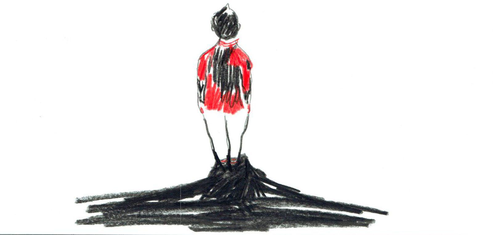 Illustration issu du livre « Noël » - Leontine Soulier   Aedaen Gallery